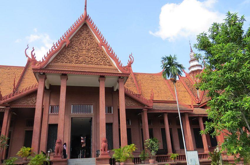 Das Nationalmuseum – Phnom Penh