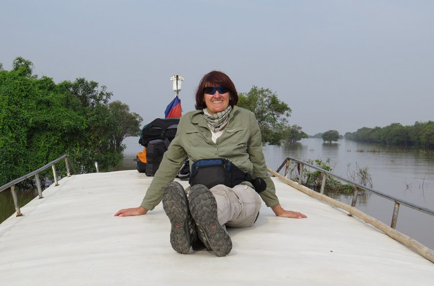 Flussabenteuer nach Battambang