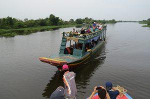 Flussabenteuer nach Battambang - Kambodscha
