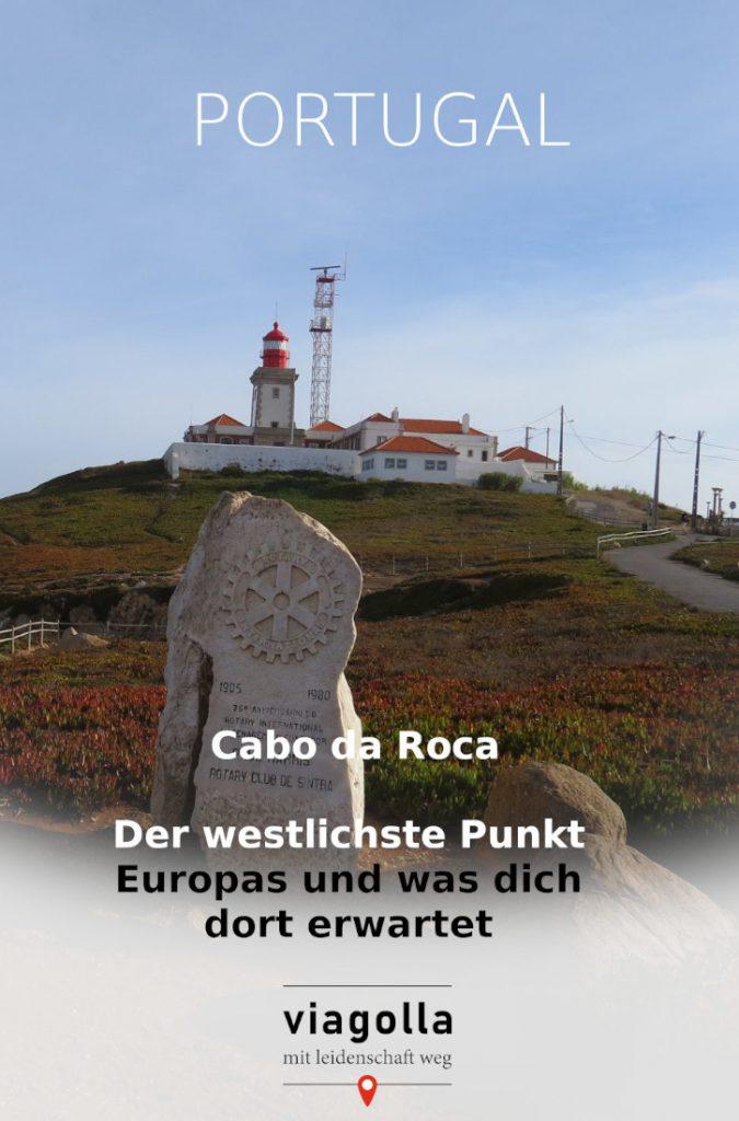 Cabo da Roca  – Reisetipp – Portugal – Urlaubsinformation - Insidertipp – viagolla