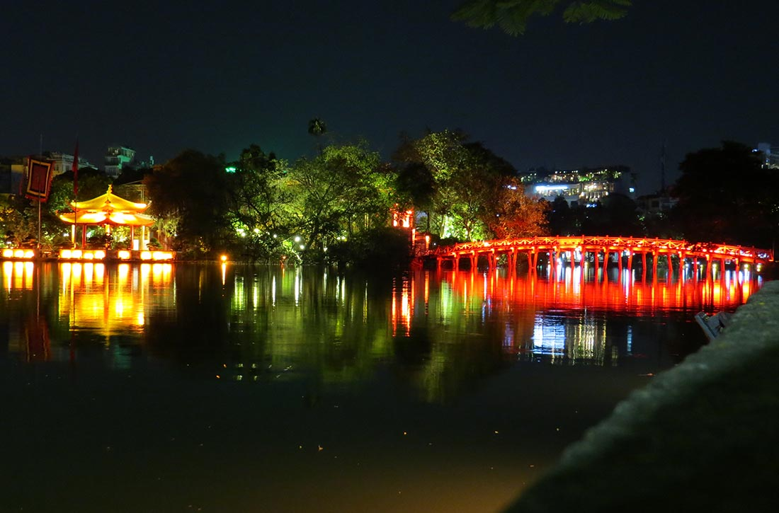 Vietnam Hanoi - Den Ngoc Son Tempel