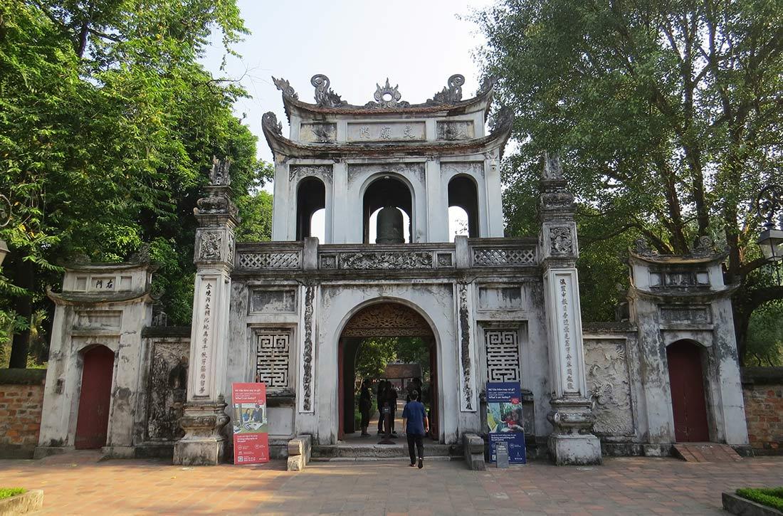 Vietnam Hanoi - Literaturtempel