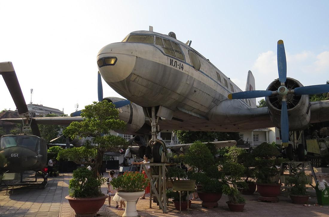Vietnam Hanoi - Museum für Militärgeschichte