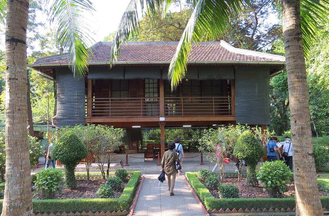 Vietnam Hanoi - Ho-Chi-Min-Haus