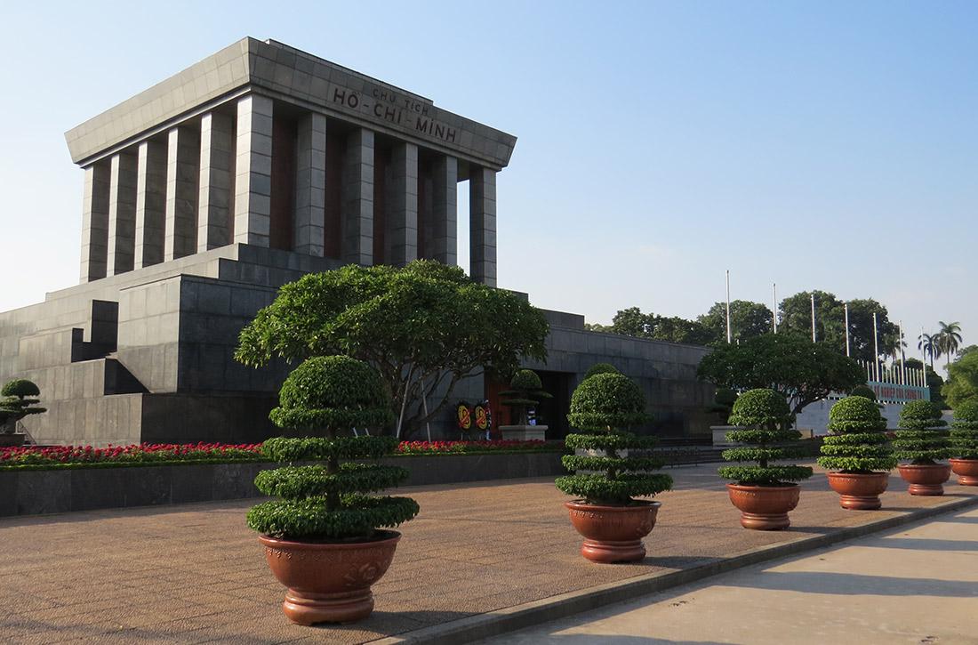 Vietnam Hanoi - Ho-Chi-Min-Mausoleum