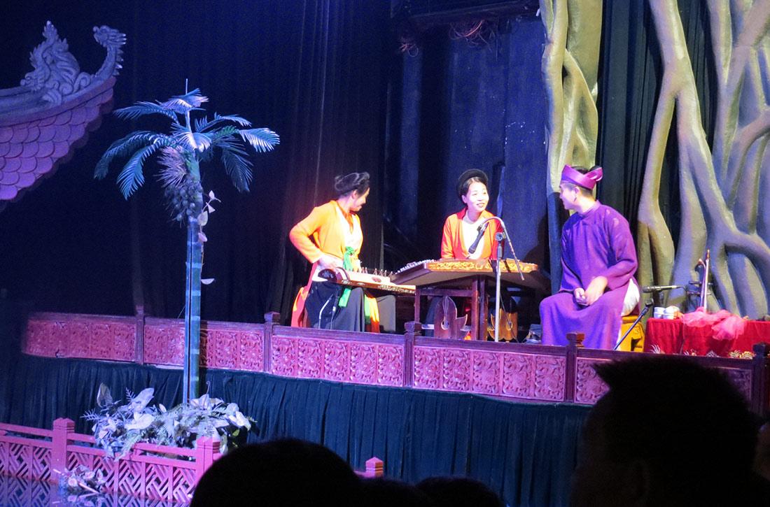 Vietnam Hanoi - Wasserpuppentheater