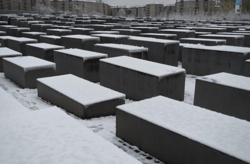 Holocaust-Mahnmal – Gedenken an 6 Mio. Opfer