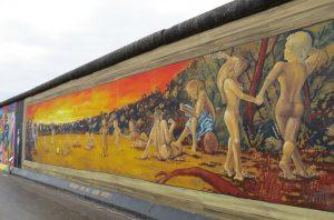 East Side Gallery Berlin Deutschland