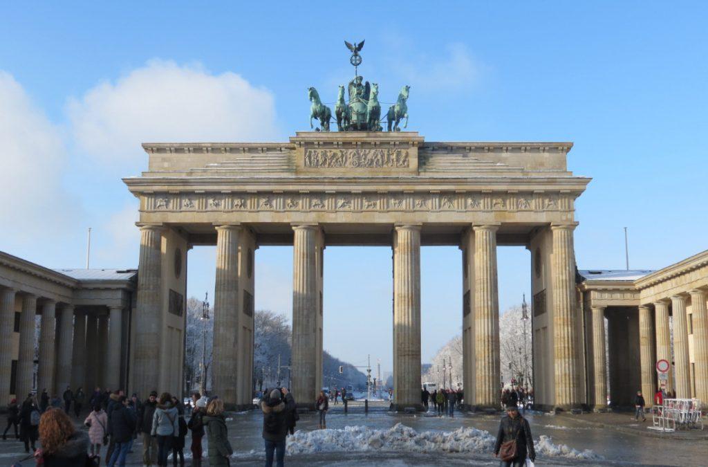 Brandenburger Tor Berlin Deutschland Europa