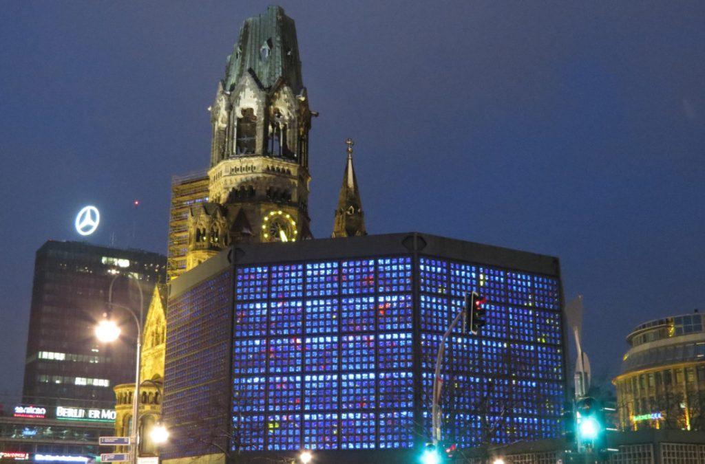 Kaiser-Wilhelm-Gedächtniskirche Berlin Deutschland Europa