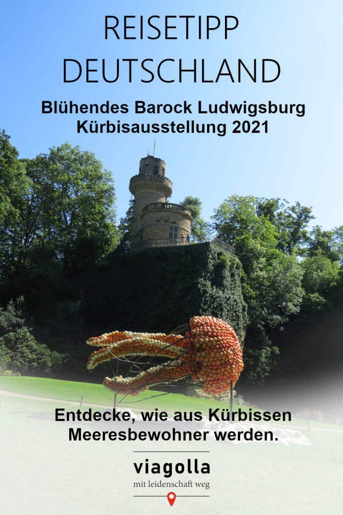 Kürbisausstellung Ludwigsburg - 2021 – Baden-Württemberg – Deutschland – Reisetipp – viagolla