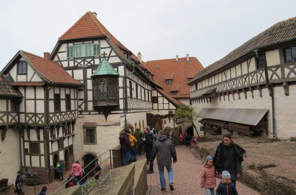 Wartburg Thüringen Deutschland Europa