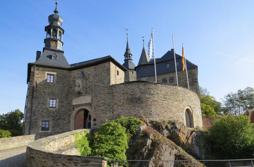 Burg Lauenstein – Frankenwald – Grenzerfahrung an der früheren Innerdeutschen Grenze