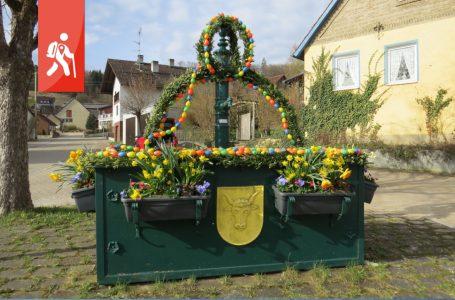 Auernheim – vom Osterbrunnen zum Wasser- und Klangpfad