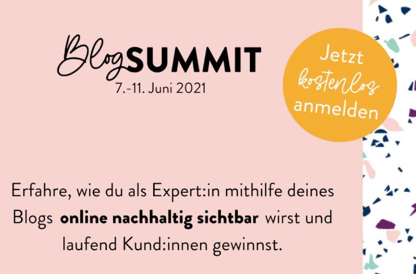 Einladung zum Blog Summit