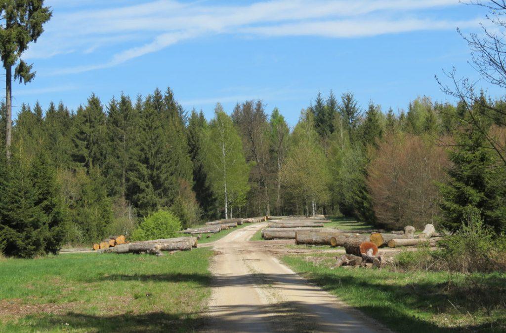 Aufhausen – Bopfingen - Meteorkrater – Nördlinger Ries – Schwäbische Alb – Deutschland – Wandertipp - viagolla