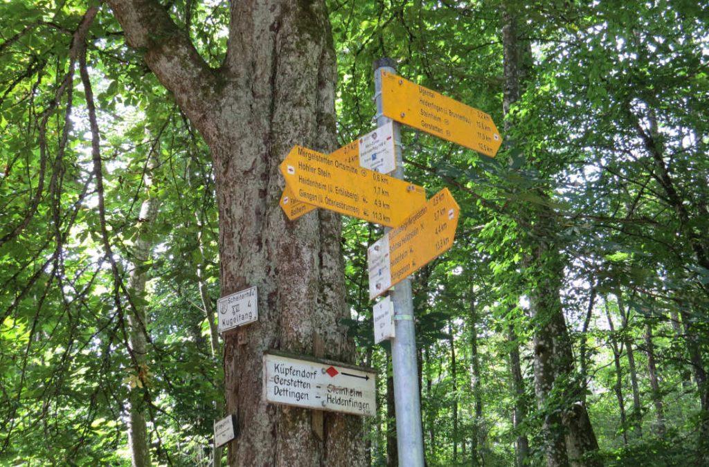 Heidenheim – Ugental – Mergelstetten – Bio-Musterregion - Baseball – Schwäbische Alb – Deutschland – Wandertipp - viagolla