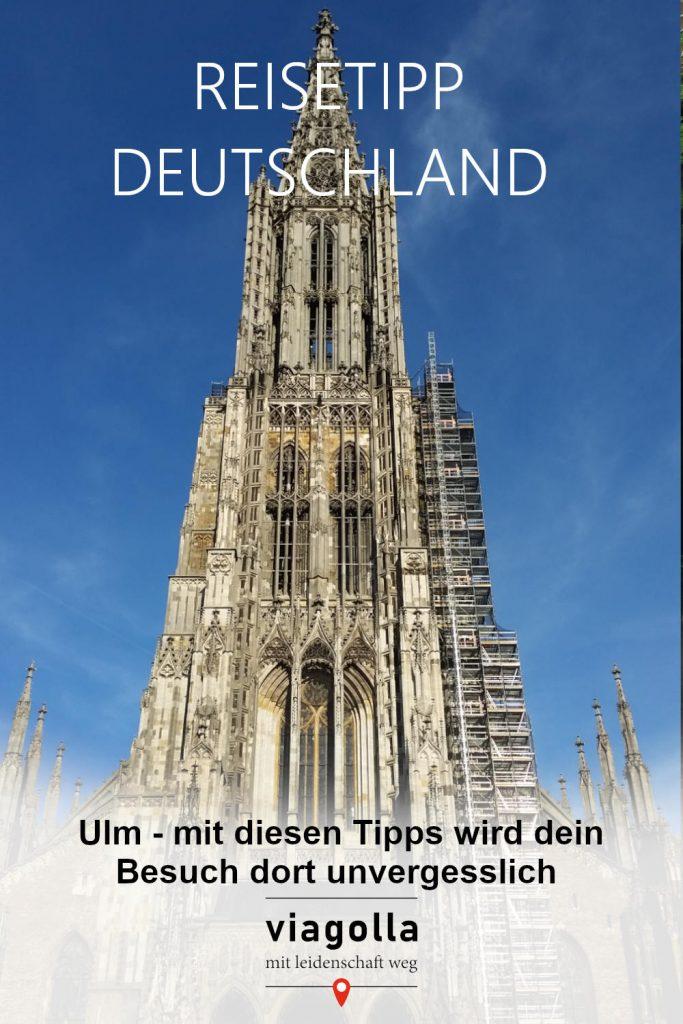 Sehenswürdigkeiten – Ulm – Einstein – Münster – Deutschland – Baden-Württemberg - viagolla